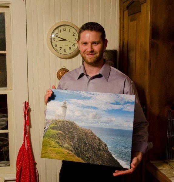 Canvas Cape Byron William Woodward