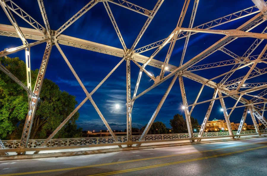 Spider Web North Dakota William Woodward