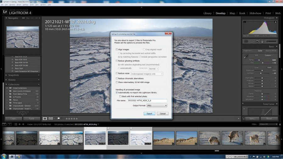 LR4 HDR Tutorial 4
