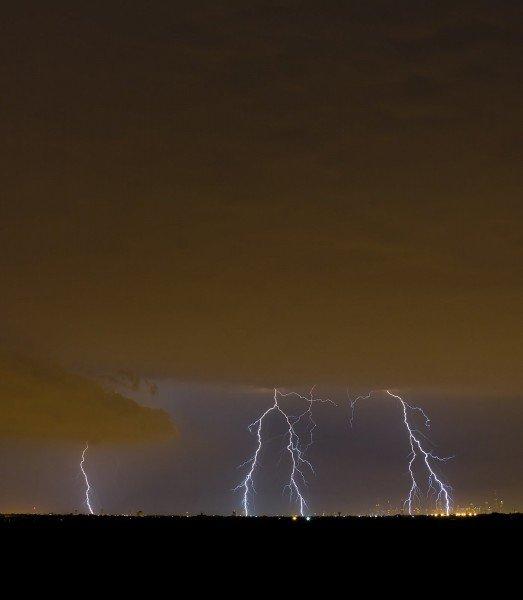 Lightning City Illinois William Woodward