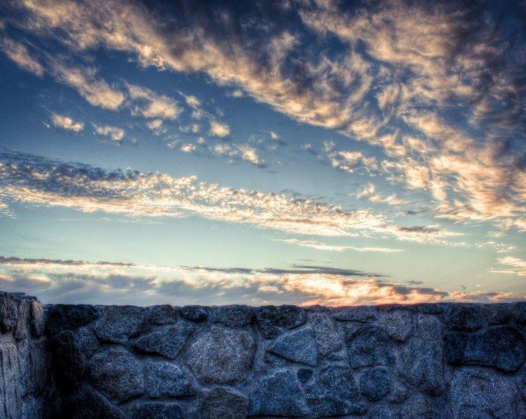 Rock Sunset Arizona William Woodward