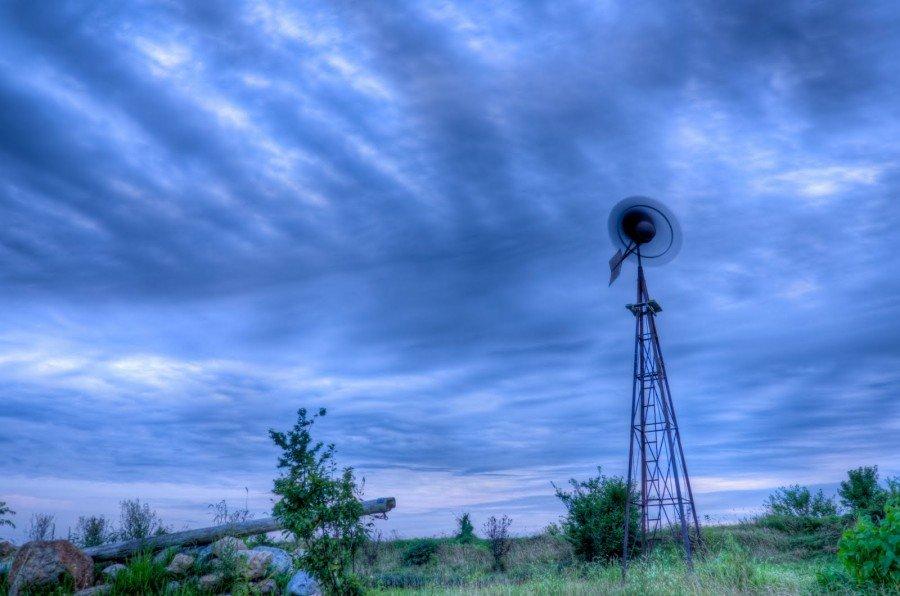 The Windmill Illinois William Woodward