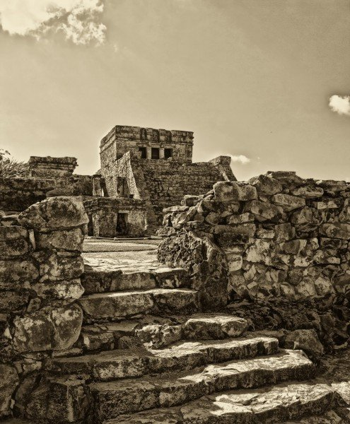 Sepia Experiment Tulum William Woodward
