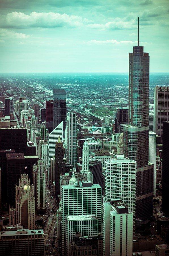 70s Landscape Chicago William Woodward