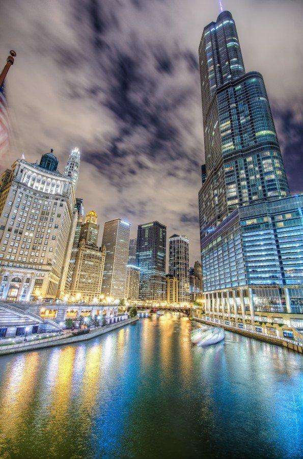 River Chicago William Woodward