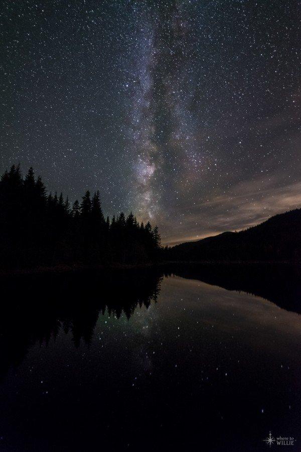 A Night at Trillium Lake - Trillium Lake, Oregon