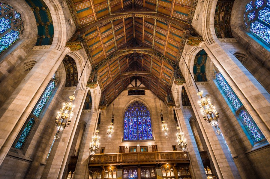Colors in Rafters Chicago William Woodward
