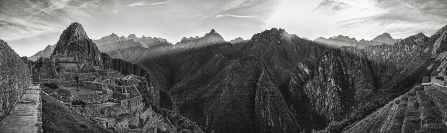 Morning Machu Picchu William Woodward