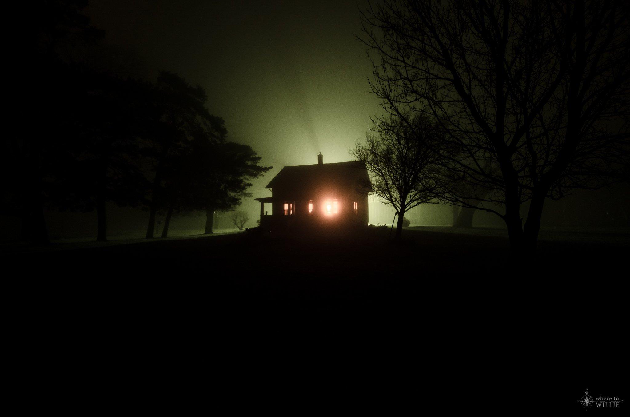 One lone night
