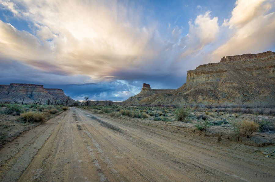 Gray Canyon Green River William Woodward