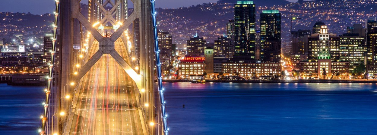 When You Look Down the Bridge ~ San Francisco, CA
