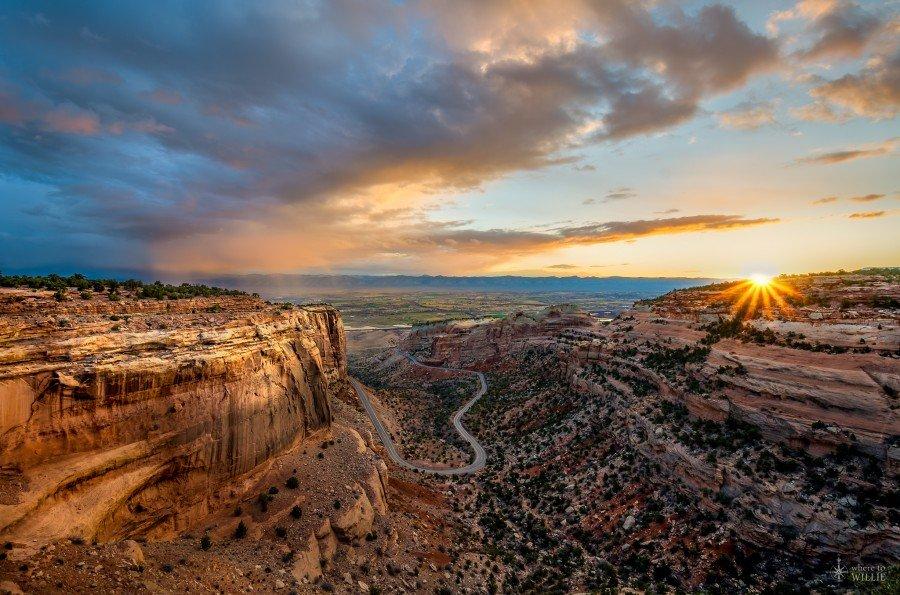 Daybreak Colorado William Woodward