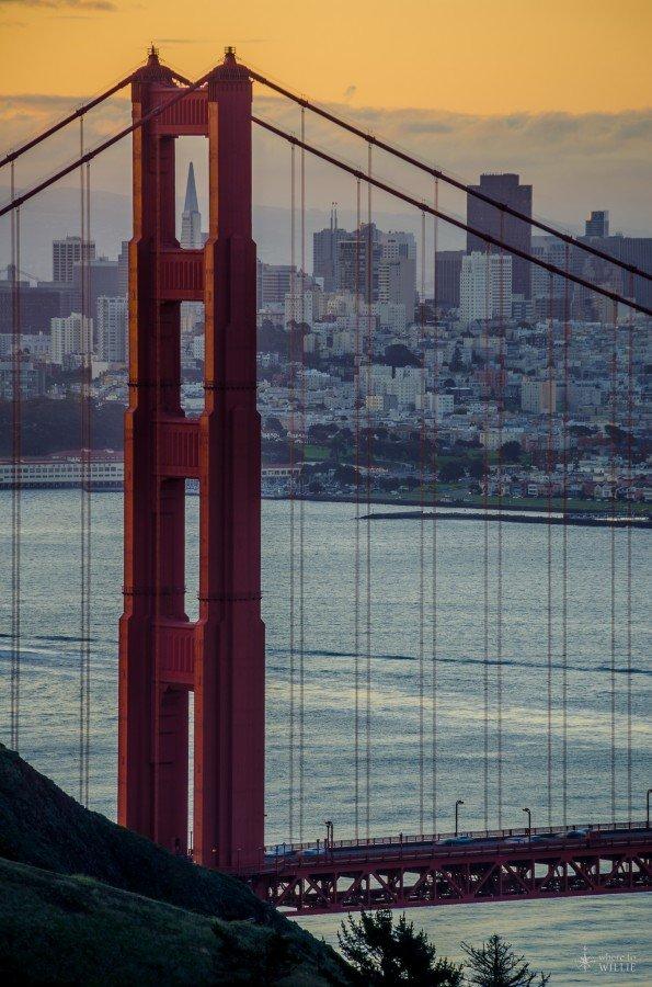 The Bridge San Francisco William Woodward