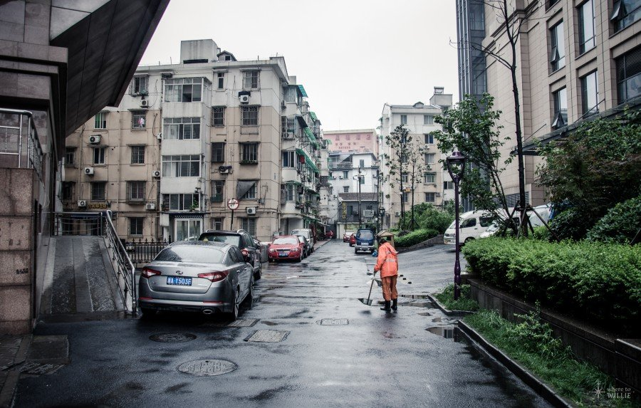 Street Sweeping Hangzhou William Woodward