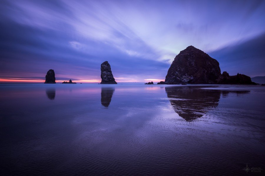 Out of the Ocean Cannon Beach William Woodward