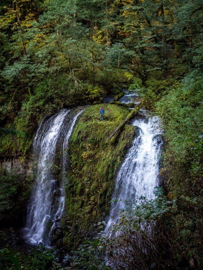 Upper McCord Falls Multnomah William Woodward