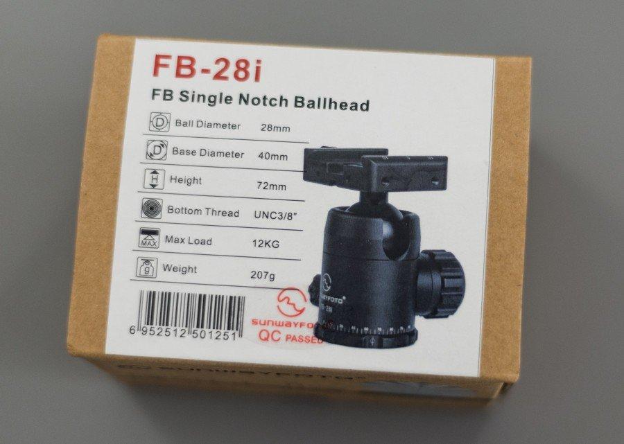 FB-28i Ballhead