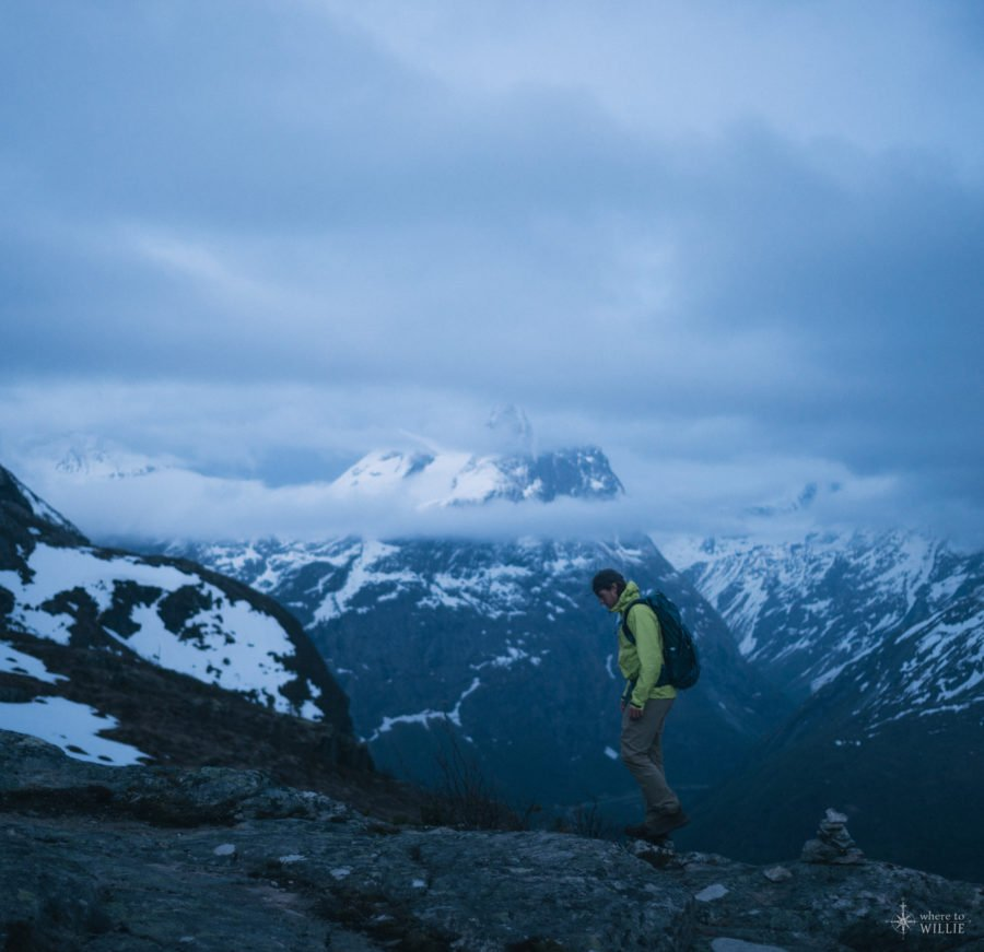 Hiking Above Åndalsnes