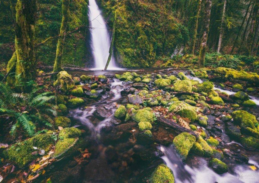 ruckel creek columbia river gorge oregon william woodward